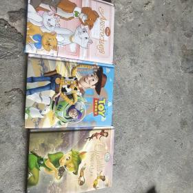 法文书 Disney系列3本合售