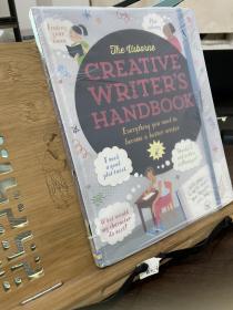 英文原版Usborne Creative Writer's Handbook创意小作家手册 写作笔记 诗歌故事剧本 趣味插图英文学习参考指南!