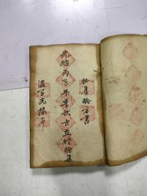 手抄中医书  秘集验方,其中有少林寺绵长和尚奇方,大厚本190面,字体工整漂亮