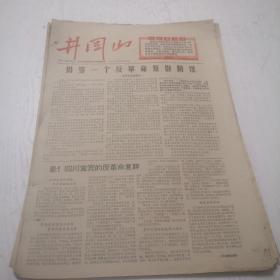 文革时期报纸:井冈山(1967年,第26,37,38,39,44,45,46,47,49,50期)10期合售