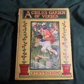稀有名著诗歌集A CIILID'S GARDEN of the VERSTS