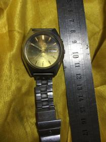日本手表双狮牌手表东方牌手表不可以走时喔可以正常调时间可以快速调日期不可快速调星期实拍品相见图片不退换喔
