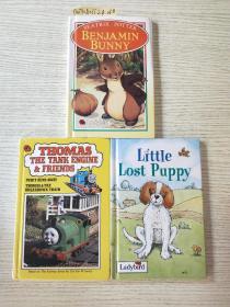 BENJAMIN BUNNY+Little Lost Puppy+THOMAS THE TANK ENGINE & FRIENDS(三本合售)
