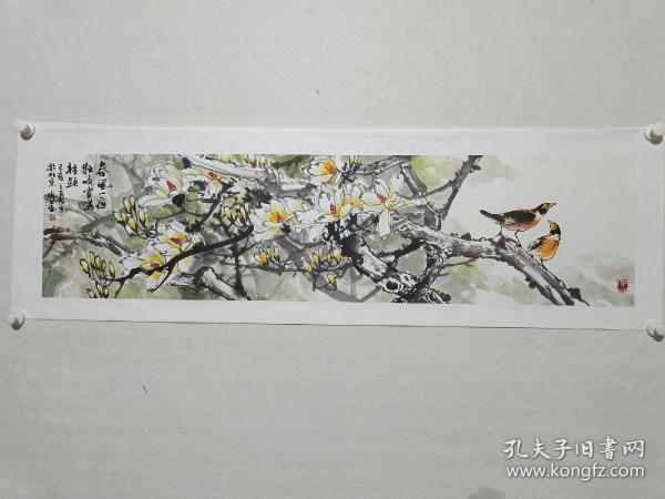 中国人民大学艺术学院花鸟画工作室导师郑瑰玺作品