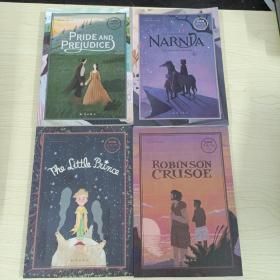 百词斩阅读计划: 小王子+傲慢与偏见+纳尼亚传奇之魔法师的外甥共四册合售