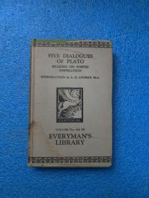 (1910年版)five dialogues  ( 布面精装)