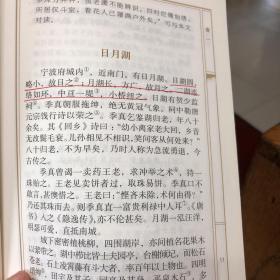 陶庵梦忆评注:淮茗评注