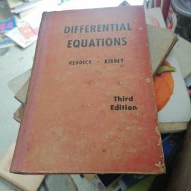 differential equations【微分方程】,1956年,精装