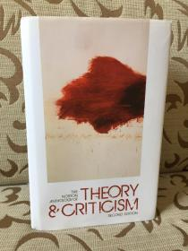 The Norton Anthology of Theory and Criticism -《诺顿文学理论与评论文集》  精装本