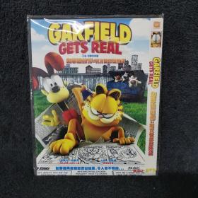加菲猫前传 现实世界历险记 DVD 光盘 碟片未拆封 外国电影 (个人收藏品)