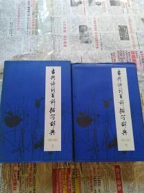 古典诗词百科描写辞典 上下册(精装本)