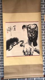 刘文西    国画   纯手绘   工艺品
