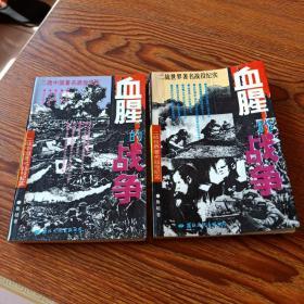 血腥的战争  上、下2卷全:二战世界著名战役纪实、二战中国著名战役纪实