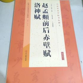 经典与传承系列书法碑帖1:赵孟頫前后赤壁赋 洛神赋