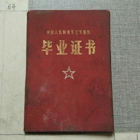 中国人民解放军空军空军院校毕业证书