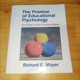 The Promise of Educational Psychology 教育心理学的前景 (英文原版)16开实物图