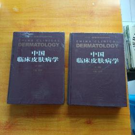 中国临床皮肤病学(上下册)——中国权威畅销的皮肤病性病专著  大16开 精装【未拆封】
