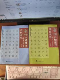 (启功小楷技法初级教程 +启功小楷技法高级教程)2册合售