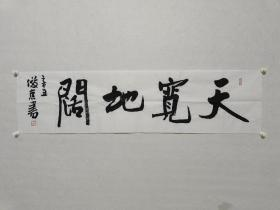 北京书法家协会副主席 刘俊京《天宽地阔》