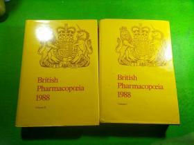British Pharmacopoeia 1988 Volume 1. 2【英国药典(1988年)第1.2卷,两册全】