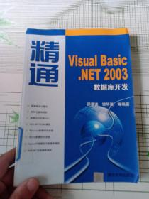 精通Visual Basic.NET 2003数据库开发(馆藏)
