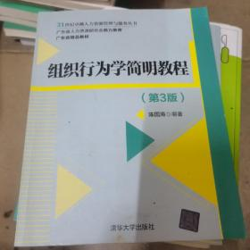 组织行为学简明教程(第3版)/21世纪卓越人力资源管理与服务丛书