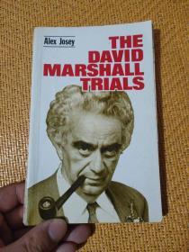 英文原版 THE DAVID MARSHALL TRIALS