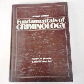 Fundamentals of Criminology(second edition)  犯罪学基础