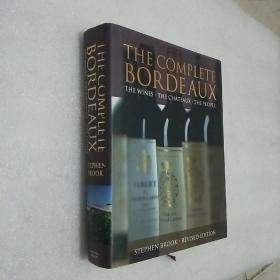 THE COMPLETE BORDEAUX THE WINES THE CHATEAUX.THE PEOPLE  巨厚