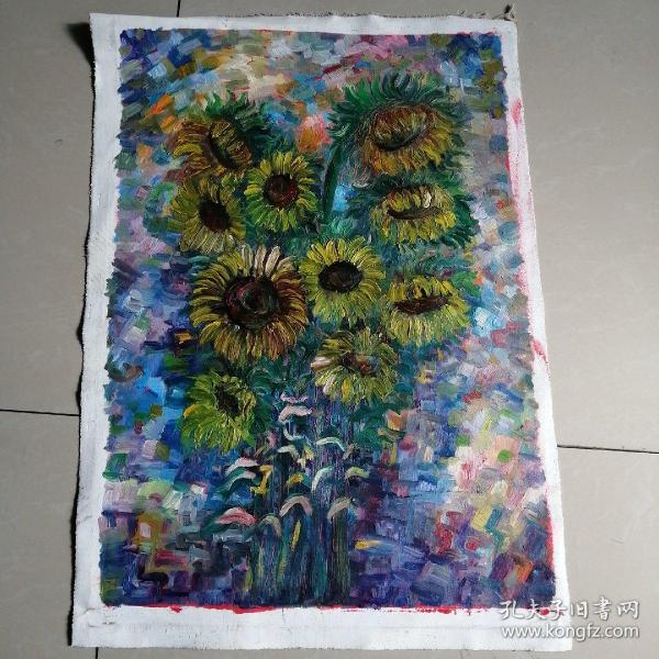 布面油画(向日葵)