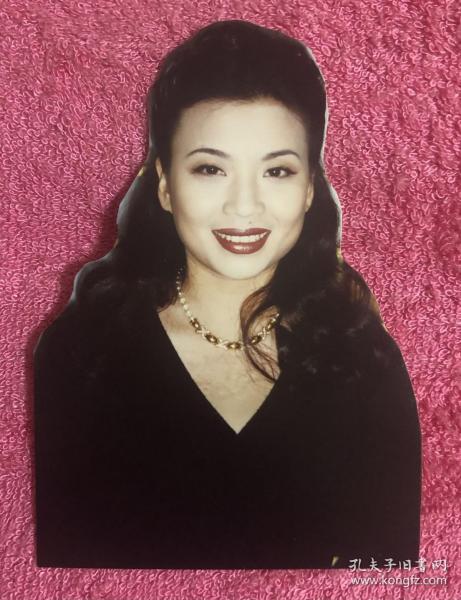 著名女高音歌唱家 张也 艺术剪照老照片