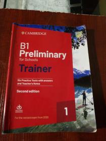 B1 Rreliminary  有划线字迹