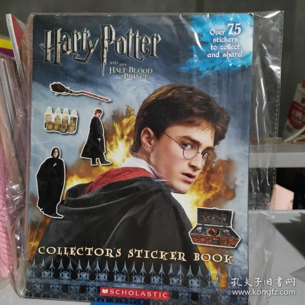 Harry Potter and the Half-Blood Prince Movie Collector's Sticker Book  哈利波特与混血王子