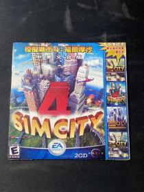 游戏光盘:模拟城市4