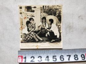 1954年武汉中山公园游玩