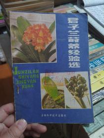 君子兰莳养经验选(5元包邮)