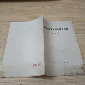 论林彪反党集团的社会基础