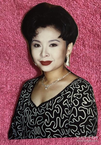 著名女高音歌唱家 董文华 艺术剪照老照片