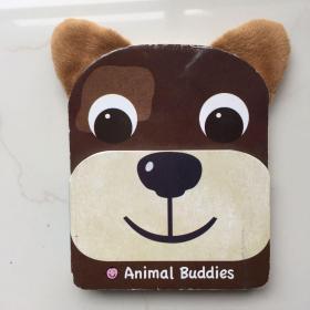 Puppy : Animal Buddies  英文儿童纸板书