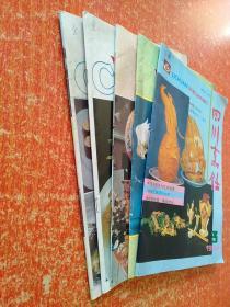 5册合售:四川烹饪1993.3、中国烹饪:1993年第5.6.9.10期