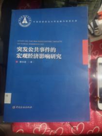 中南财经财政法大学金融与投资文库:突发公共事件的宏观经济影响研究
