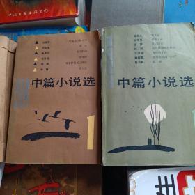 1983年中篇小说选①+1984年中篇小说选①(2册合售)