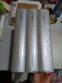 盐城市志 1983~2005  (上中下全三册)(大16开精装!)  全新新版!