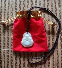 平安护身玉佩 :如来佛祖护身符项链
