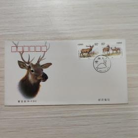 信封:马鹿 -纪念封/首日封