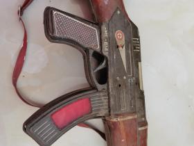 文革铁皮玩具枪