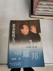 思念依然无尽-回忆父亲胡耀邦【满30包邮】