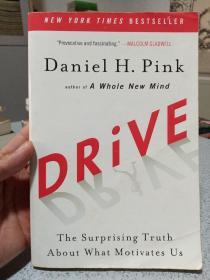 2009年,英文原版,平装版,Daniel H. Pink著名商业管理作品,驱动力,drive,the suprise truth that motivates us