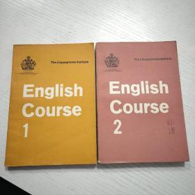English Course 1、 2 (灵格风英语教程 1初级本、2中级本   2本合售