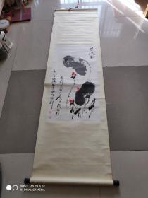 著名贵州指掌书画家 陈明显 国画 长90宽46 终身保真